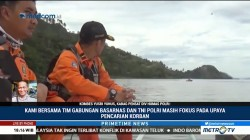 Evakuasi Korban Tenggelamnya KM Sinar Bangun Terkendala Cuaca