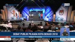 Debat Publik Pilkada Kota Bekasi 2018 (1)