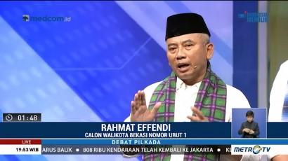 Debat Publik Pilkada Kota Bekasi 2018 (2)