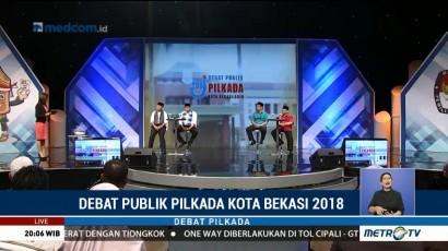 Debat Publik Pilkada Kota Bekasi 2018 (3)