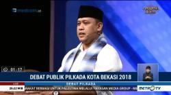 Debat Publik Pilkada Kota Bekasi 2018 (4)