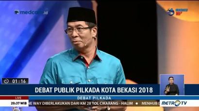 Debat Publik Pilkada Kota Bekasi 2018 (5)