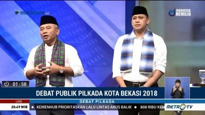 Debat Publik Pilkada Kota Bekasi 2018 (6)