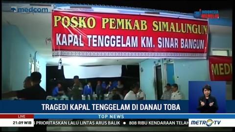 Pencarian Korban KM Sinar Bangun akan Dilanjutkan Besok