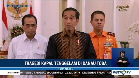 Jokowi Minta Pencarian Korban KM Sinar Bangun Dipercepat