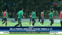 Timnas Indonesia U-23 Gelar Latihan Jelang Lawan Korsel