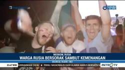 Warga Rusia Bersorak Sambut Kemenangan