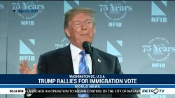 Trump Rallies Republicans for Hill Immigration Vote
