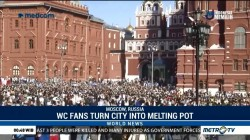 Musical World Cup Fans Turn Moscow Into Melting Pot of Global Cultures