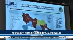 Survei Indo Barometer: Masyarakat 4 Provinsi Puas Kinerja Jokowi-JK