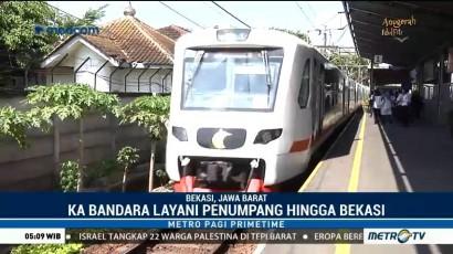 Tarif Promo Kereta Bandara di Stasiun Bekasi Berlaku hingga 30 Juni