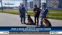 Anjing Pelacak Turut Menjaga Keamanan Piala Dunia