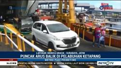 Volume Kendaraan di Pelabuhan Ketapang Terus Meningkat