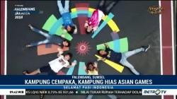 Mengunjungi Kampung Hias Asian Games di Palembang