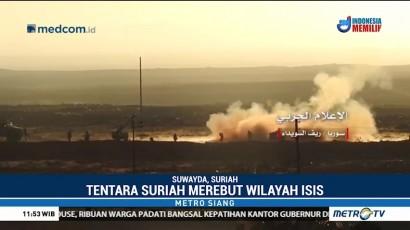 Tentara Suriah Rebut Wilayah Suwayda dari ISIS