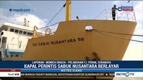 Jumlah Pemudik di Pelabuhan Tanjung Perak Menurun
