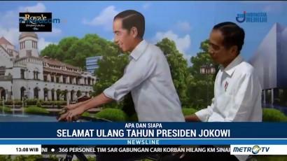 Hari Ini, Jokowi Ulang Tahun ke-57