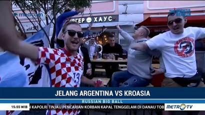 Kota Nizhny Novgorod Sambut Ribuan Fans Argentina dan Kroasia