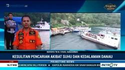 Basarnas akan Dibantu TNI AL untuk Capai Kedalaman Danau Toba