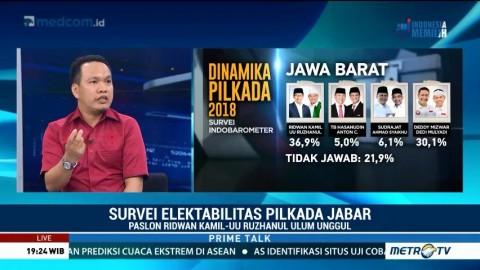 Popularitas Ridwan Kamil Belum Sampai Wilayah Bekasi & Depok