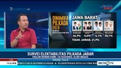 Indo Barometer: Bandung Raya dan Priangan Timur Jadi Kunci Kemenangan Paslon Rindu