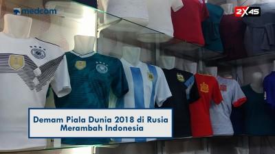 Demam Piala Dunia di Tanah Abang
