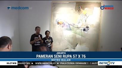 Pameran Seni Rupa 57 x 76 Digelar di Galeri Nasional Indonesia