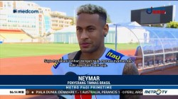 Neymar Siap Bela Brasil Saat Melawan Kosta Rika