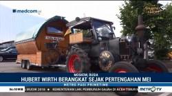 Suporter Jerman Bawa Traktor ke Moskow
