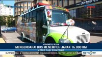 Bus Unik Suporter Meksiko