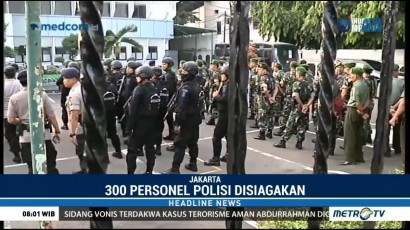 300 Personel Kawal Sidang Vonis Aman Abdurrahman