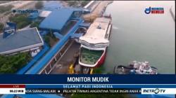 Pelabuhan Merak Lengang