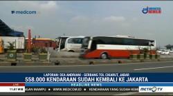 558.000 Kendaraan Kembali ke Jakarta Lewat GT Cikarut