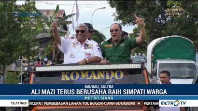Ratusan Kendaraan Ramaikan Kampanye Ali Mazi di Kota Baubau