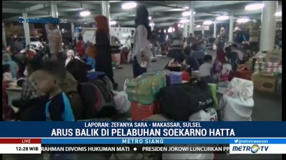 Arus Balik Masih Terjadi di Bandara Sultan Hasanuddin dan Pelabuhan Soetta