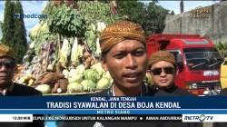 Warga Desa Boja Sambut Bulan Syawal dengan Kirab Nyai Dapu