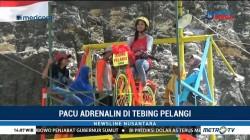 Pacu Adrenalin di Tebing Pelangi