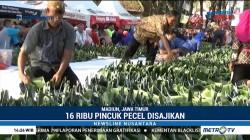 Festival Pecel Pincuk di Kota Madiun Pecahkan Rekor MURI