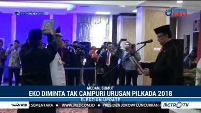 Eko Subowo Dilantik Sebagai Pj Gubernur Sumut