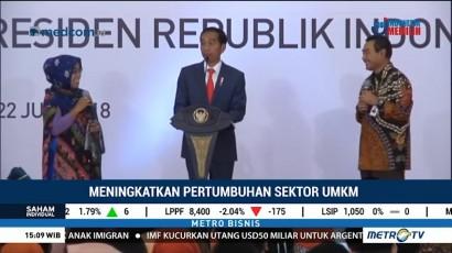 Jokowi Minta UMKM Manfaatkan Pembiayaan dari Bank
