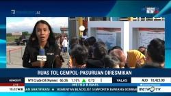 Jokowi Resmikan Tol Gempol-Pasuruan Seksi II
