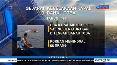 Daftar Kasus Kecelakaan Kapal di Danau Toba