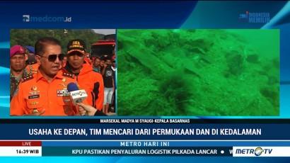Basarnas: Pencarian Bangkai KM Sinar Bangun Terkendala Kedalaman Danau