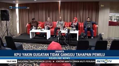 KPU Yakin Putusan MK Soal<i> Presidential Threshold</i> Tak akan Ganggu Pemilu 2019