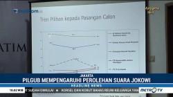 Hasil Pilgub Diprediksi Pengaruhi Perolehan Suara Jokowi di Pilpres 2019