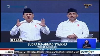 Debat Publik Ketiga Pilgub Jabar (3)