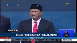 Debat Publik Ketiga Pilgub Jabar (4)