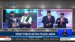 Debat Publik Ketiga Pilgub Jabar (5)