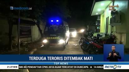 Jenazah Terduga Teroris yang Ditembak Mati Tiba di RS Polri Kramatjati
