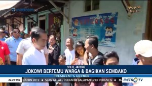 Saat Jokowi Pulang Kampung